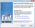 Exif Tag Remover screenshot