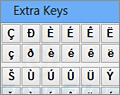 Extra Keys screenshot