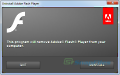 Adobe Flash Player Uninstaller screenshot