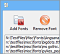 Font Loader screenshot