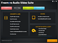 Freemore Audio Video Suite screenshot