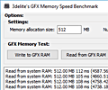 GFX Memory Speed Benchmark screenshot