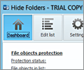 Hide Folders screenshot