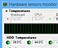 Hardware Sensors Monitor screenshot