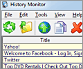 IE History Monitor screenshot