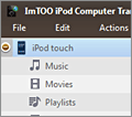 ImTOO iPod Computer Transfer screenshot