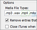 iTunes CleanList screenshot