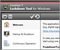 FrontFace Lockdown Tool - lock down a PC as kiosk terminal