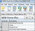 MDB Viewer Plus screenshot