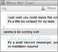 Midis Net Chat screenshot
