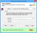 BullZip MS Access to MySQL screenshot