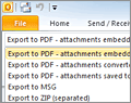 MessageExport for Outlook screenshot
