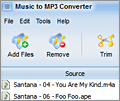 Music to MP3 Converter screenshot