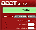 OCCT screenshot
