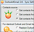 Outlook4Gmail screenshot