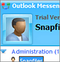 Outlook Messenger screenshot