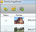 Plastiliq Image Resizer screenshot