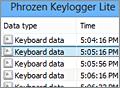 Phrozen Keylogger Lite screenshot