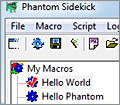 Phantom Sidekick screenshot