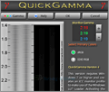 QuickGamma screenshot