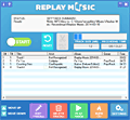 Replay Music screenshot