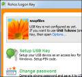 Rohos Logon Key screenshot