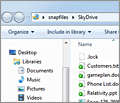 Microsoft OneDrive (SkyDrive) screenshot