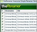 theRenamer screenshot
