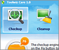 Toolwiz Care screenshot