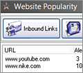 Website Popularity screenshot