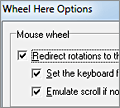 Wheel Here screenshot