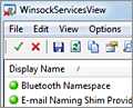 WinsockServicesView screenshot