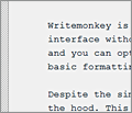 Writemonkey screenshot