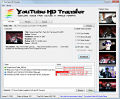 YouTube HD Transfer screenshot