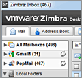 Zimbra Desktop screenshot