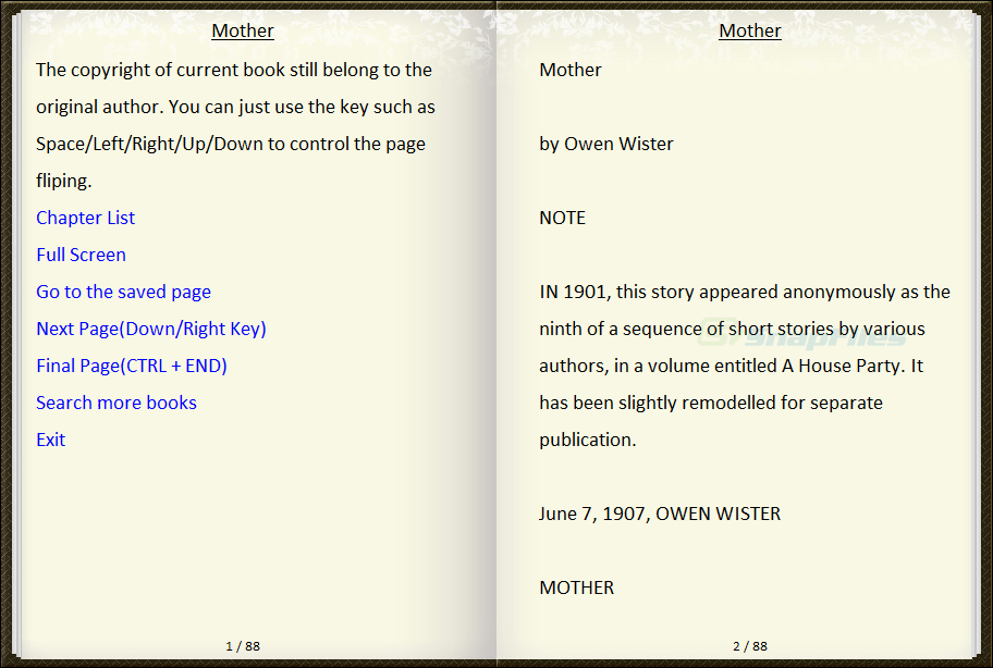 screenshot of ToolWiz FlipBook