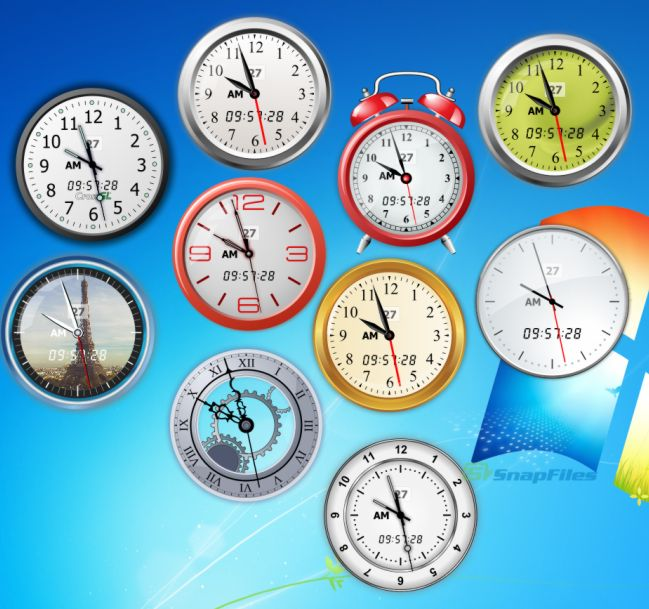 screen capture of Vector Clocks