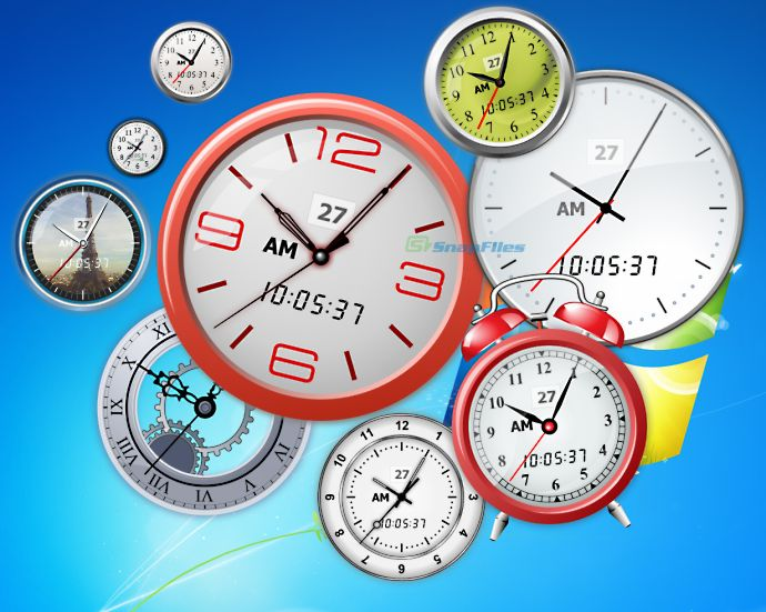 screenshot of Vector Clocks