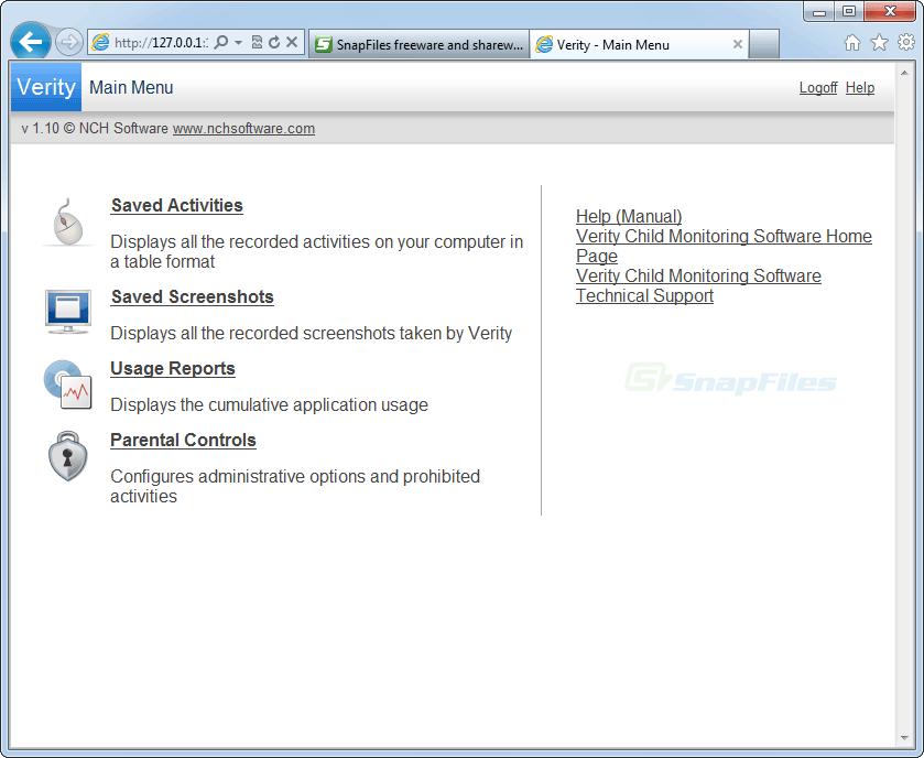 Free Internet Filtering Snapfiles
