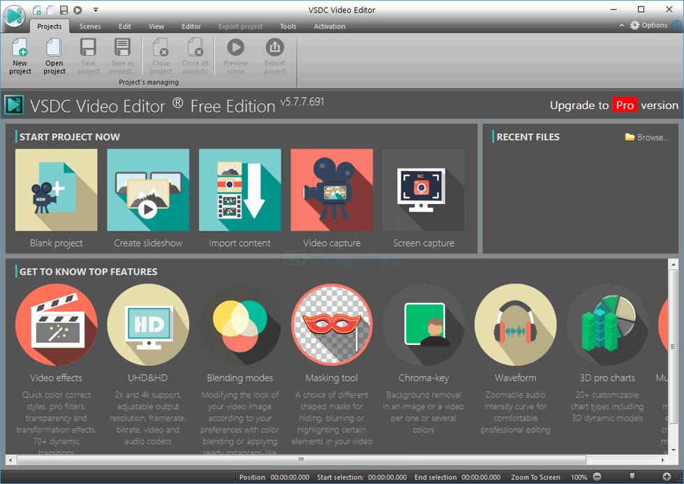 Free Video Editing Tools - SnapFiles
