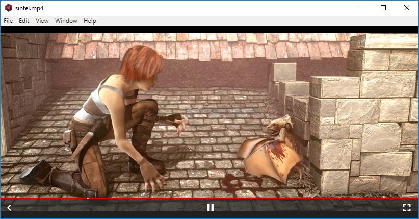 screenshot of WebTorrent Desktop