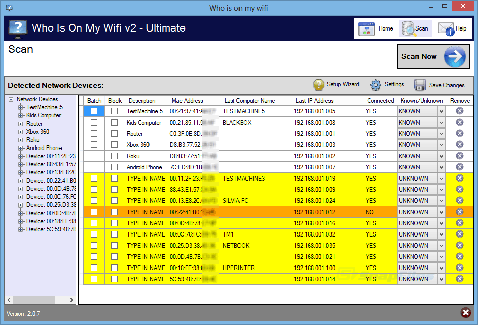 Who is on my wifi 2.1 6 ultimate with serial key