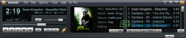 screenshot of Winamp Full