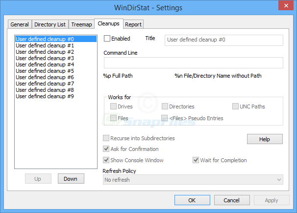 screenshot of WinDirStat