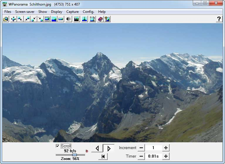 screen capture of WPanorama