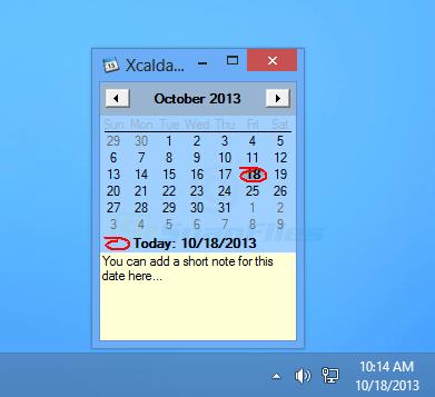 screen capture of Xcalday