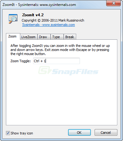 screenshot of ZoomIt