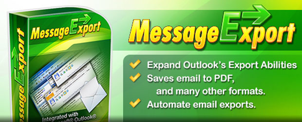 MessageExport for Outlook